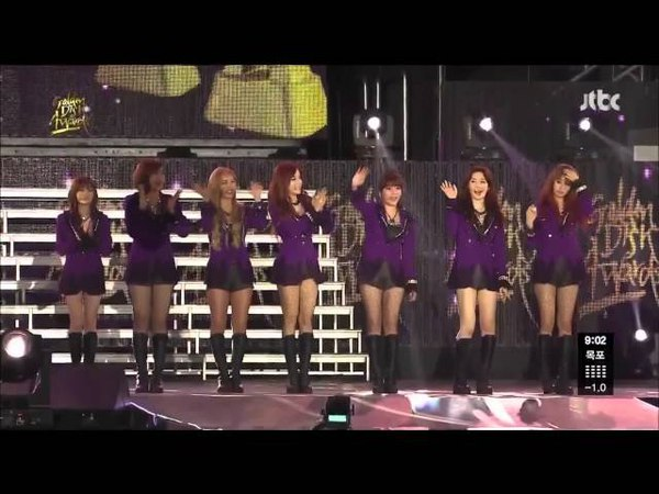 [HD]130120 T-ara Sexy Love Lovey Dovey Roly Poly Full Cuts @ Golden Disk Awards