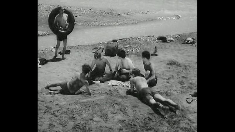Наш двор. 1956.(СССР. фильм-драма, мелодрама, комедия)