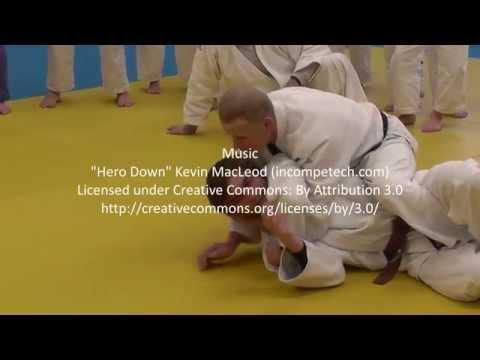 Judo Juji gatame part 3 Steve Gawthorpe Series 2