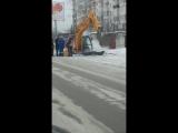 На спуске Зеленый Клин. Бийск. 16.01.18