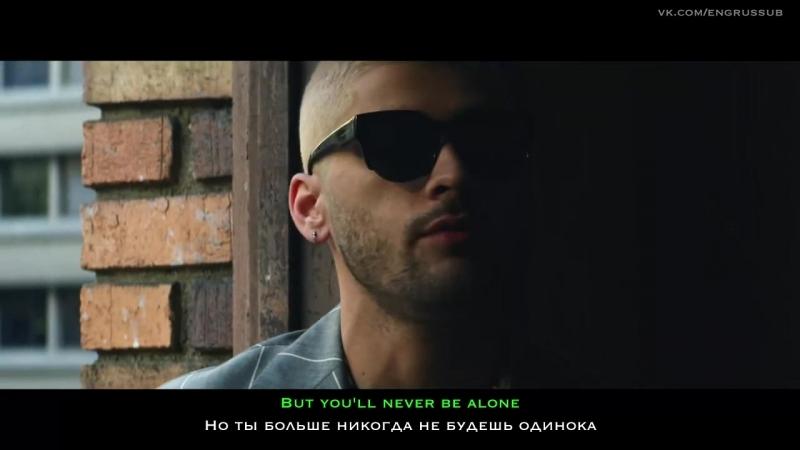 ZAYN - Dusk Till Dawn ft. Sia - От заката до рассвета (русские и английские субтитры)