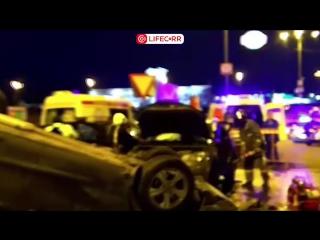 Девять человек пострадали в ДТП на Новорижском шоссе в Москве