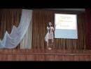 Песня Лебединая верность в исполнении талантливой начинающей солистки Залии Шамуратовой ( худ.рук. Н.Ф.Хакимова)