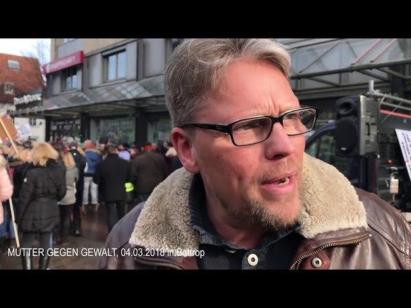 Guido Reil AFD in BOTTROP bei Mütter gegen Gewalt AMERICAN