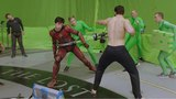 Justice League (2017) Superman Vs Flash Behind The Scenes