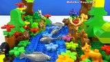 Строим из Lego Duplo - Build and Play toys Lego - forest river