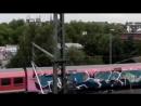 Graffiti Hamburg - Subway And S-Train Bombing with Apris