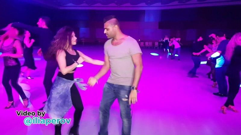 Rizvi Vayani and Işıl Özbek Social dancing at Istanbul Dance Festival, friday 30032018
