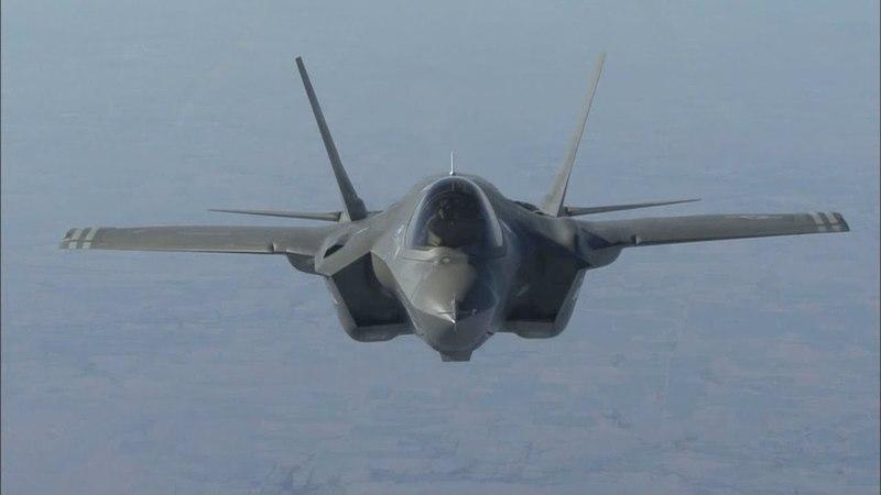 '한국군 첫 스텔스 전투기' F-35A 1호기 출고 / 연합뉴스TV (YonhapnewsTV)