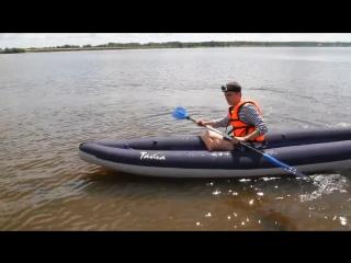 Жесть ! Байдарка Тайга 430 утонула посреди реки !