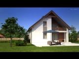 Проект мансардного дома Z166 от Z500