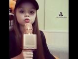 маленькая девочка Классно поёт?❤️