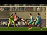 FIFA18 - штанга-штанга-гол