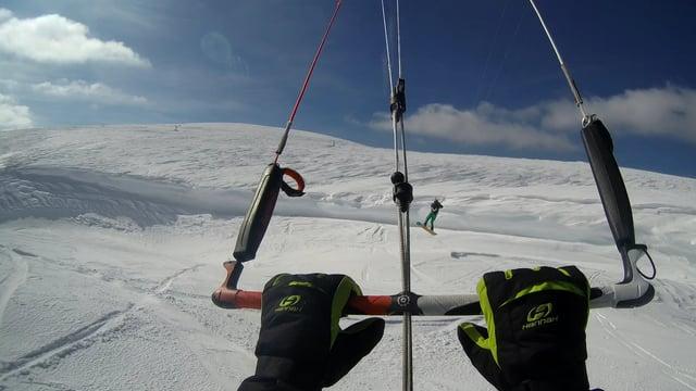 Austria snowkiting