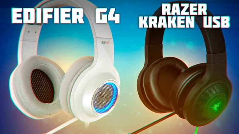 [Новинки IT, Обзоры компьютерной техники и периферии] Edifier G4 (50$) vs Razer Kraken (80$) 🔥