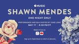 Apple Music Presents Shawn Mendes, One Night Only LIVE