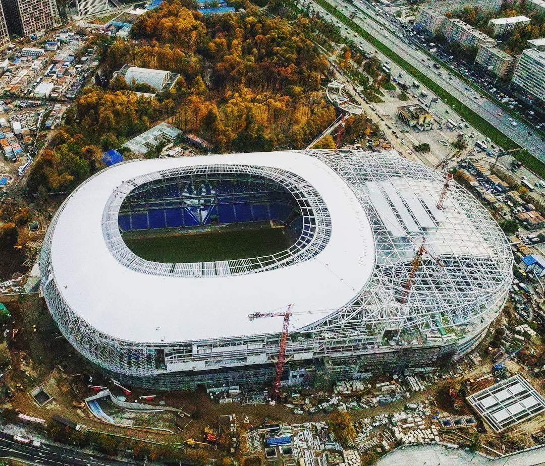 Новый стадион динамо москва фото