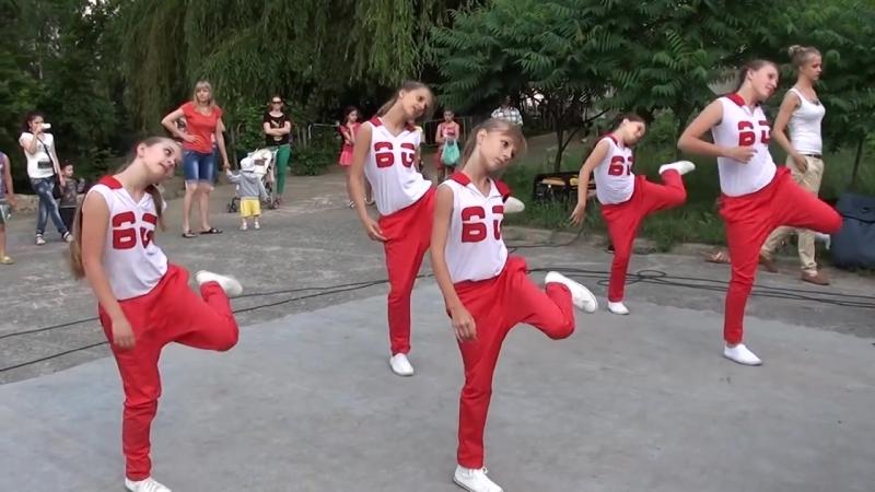 Street Dance Dance театр Белый город Праздник во дворе 2013 года