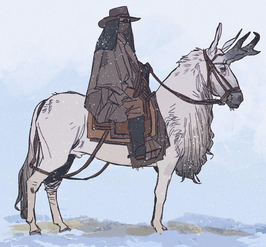 Как бы смотрелись лошади в мире Fallout ?