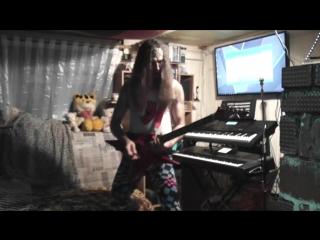 Michael crusader - my little practik in improvisation(person),on b.c.rich(iron-bird)