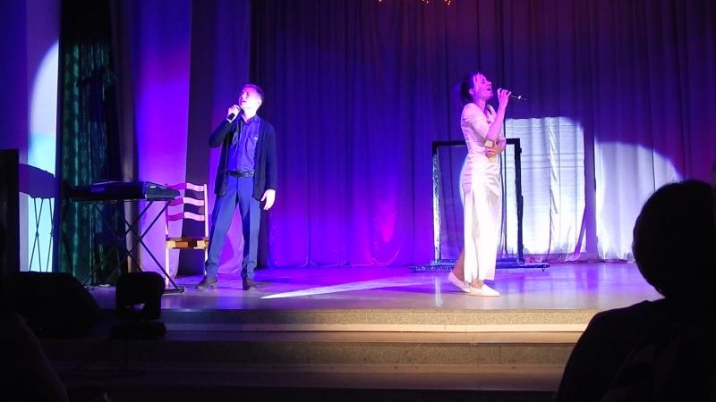 Эстрадная студия Голоса - Прости моя любовь; очаровательный дуэт Татьяна Валаханович и Тимофей Кривенков.