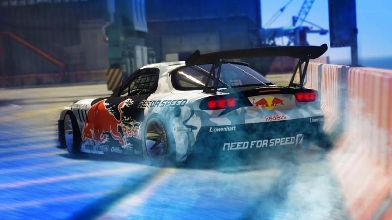 ErasableNinja GTA 5 THE IMPORT DRIFT MONTAGE Mazda RX7