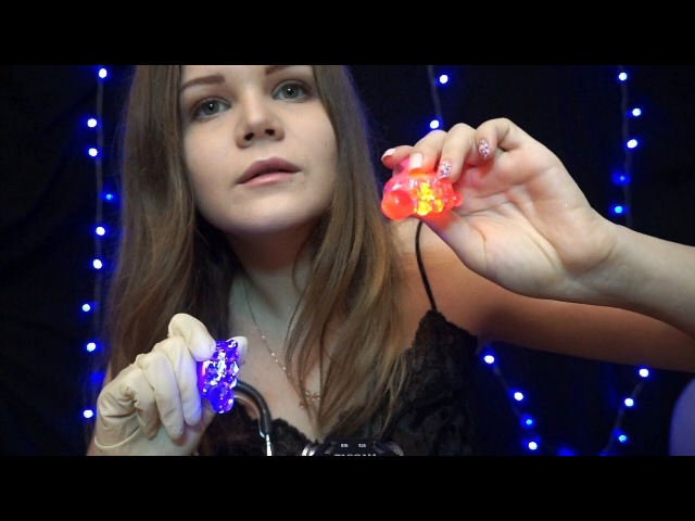 АСМР | Триггерный Окулист | Движение рук, Фонарики, Неразборчивый шёпот | ASMR | Visual Triggers