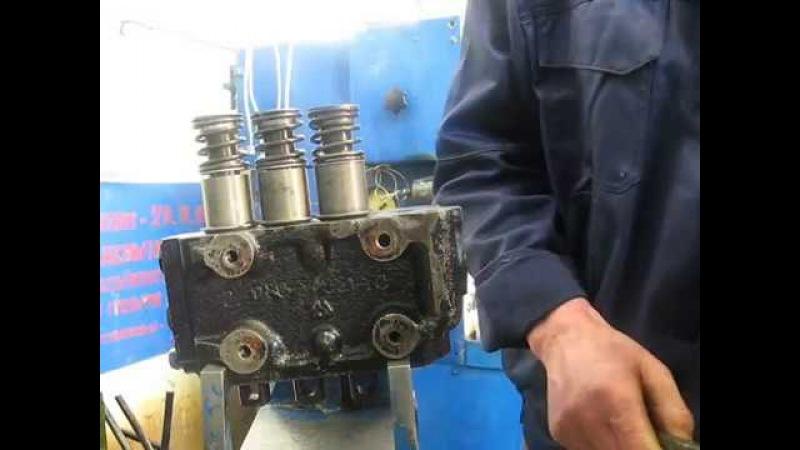 Гидрораспределитель Р80-3/1-222 с трактора МТЗ 80 Стогомет. Капремонт.Сборка.