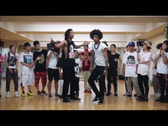 Les Twins- Larry- my top 11- freestyles