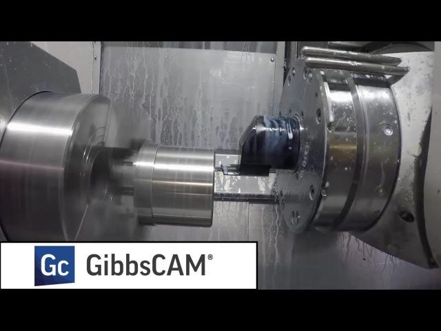 GibbsCAM VoluTurn - высокопроизводительное точение