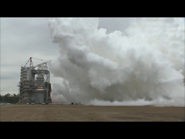 NASA Tests Fires RS-25 Engine for First Time in 2018