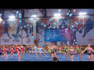 Спортивная акробатика. Чемпионат и первенство СЗФО 8-10.01.2018. 10 января.