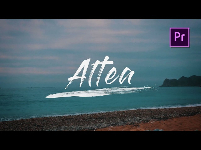 Write-On Text Effect in Adobe Premiere Pro -Tutorial