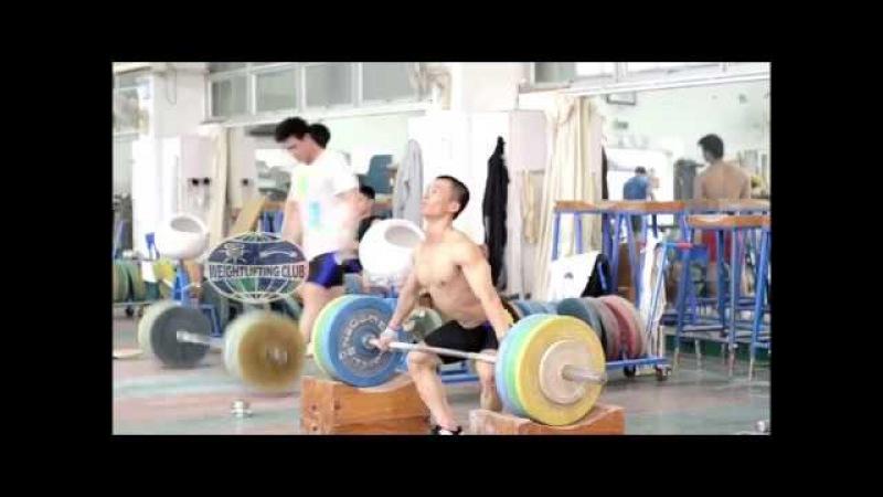 吴景彪 Wu Jingbiao 宽速拉、抓举、挺举