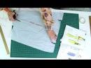 Моделирование асимметричной юбки с кокеткой удлиненным углом и карманами от ба