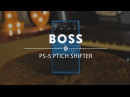 Boss PS-5 Pitch Shifter Pedal Reverb Demo Video