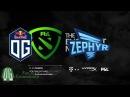 OG vs Zephyr Game 1 The Bucharest Major Europe Qualifier