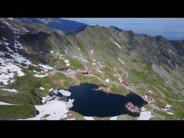 Transfagarasan - Balea Lac. Filmare Drona 4K (2017) - озеро Быля (Балеа), Румыния