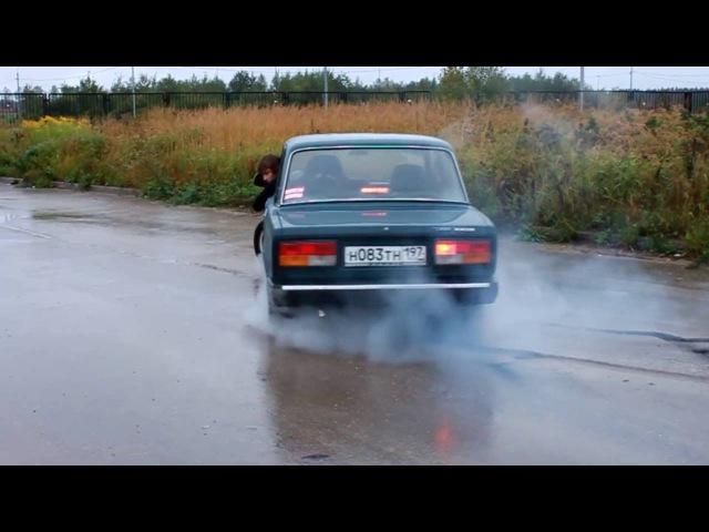 Лада 2107 Project Ð , drift video 1 :C