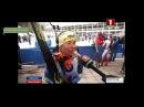 Интервью Белорусских спортсменов после эстафеты!