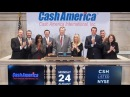 NYSE Closing Bell Ringers Put on a Happy Face