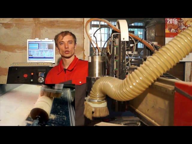 Модернизация 3-х осевого фрезерного ЧПУ до полноценного 4-осевого... Деревообрабатывающий станок