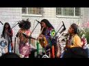 Перуанские индейцы в Москве 05.07.2013