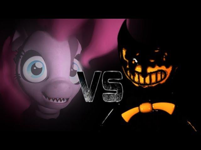 (SFM/FNAF/BENDY) my little pony- рэп битва Фредди VS бенди