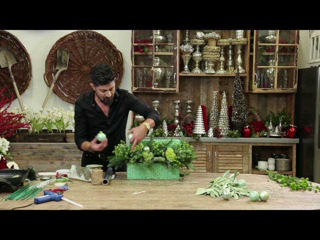DIY Green With Envy Floral Arrangement