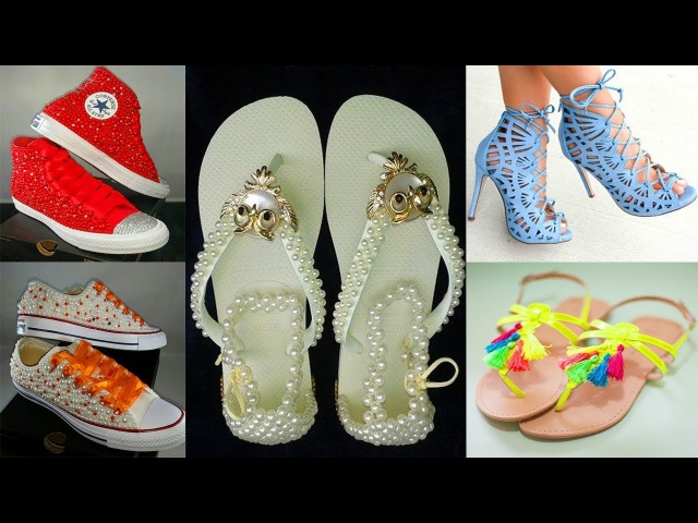 DIY Clothes! 8 DIY Shoes Projects DIY Sneakers, Boots, Fashion More Amazing 2018