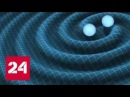 Физики впервые поймали гравитационные волны от слияния звезд - Россия 24