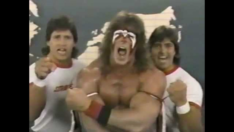 Ultimate Warrior Strike Force Promo on Demolition Fuji (05-28-1988)