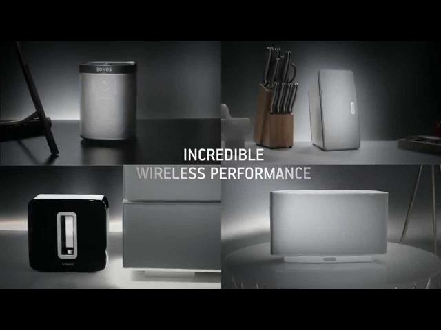 The Sonos Wireless HiFi System
