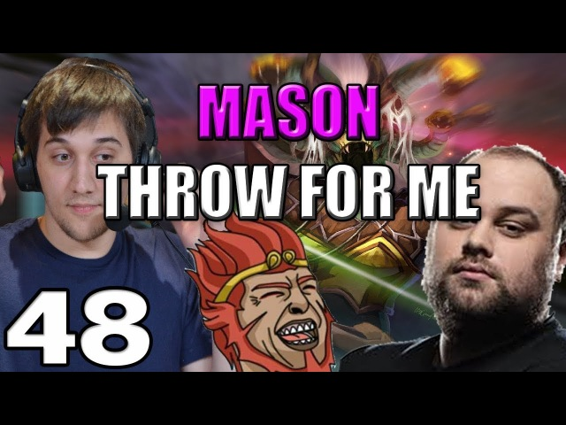 Arteezy - Best Moments 48 - HALF THROWING HALF TRYING ft MASON THROW FOR ME